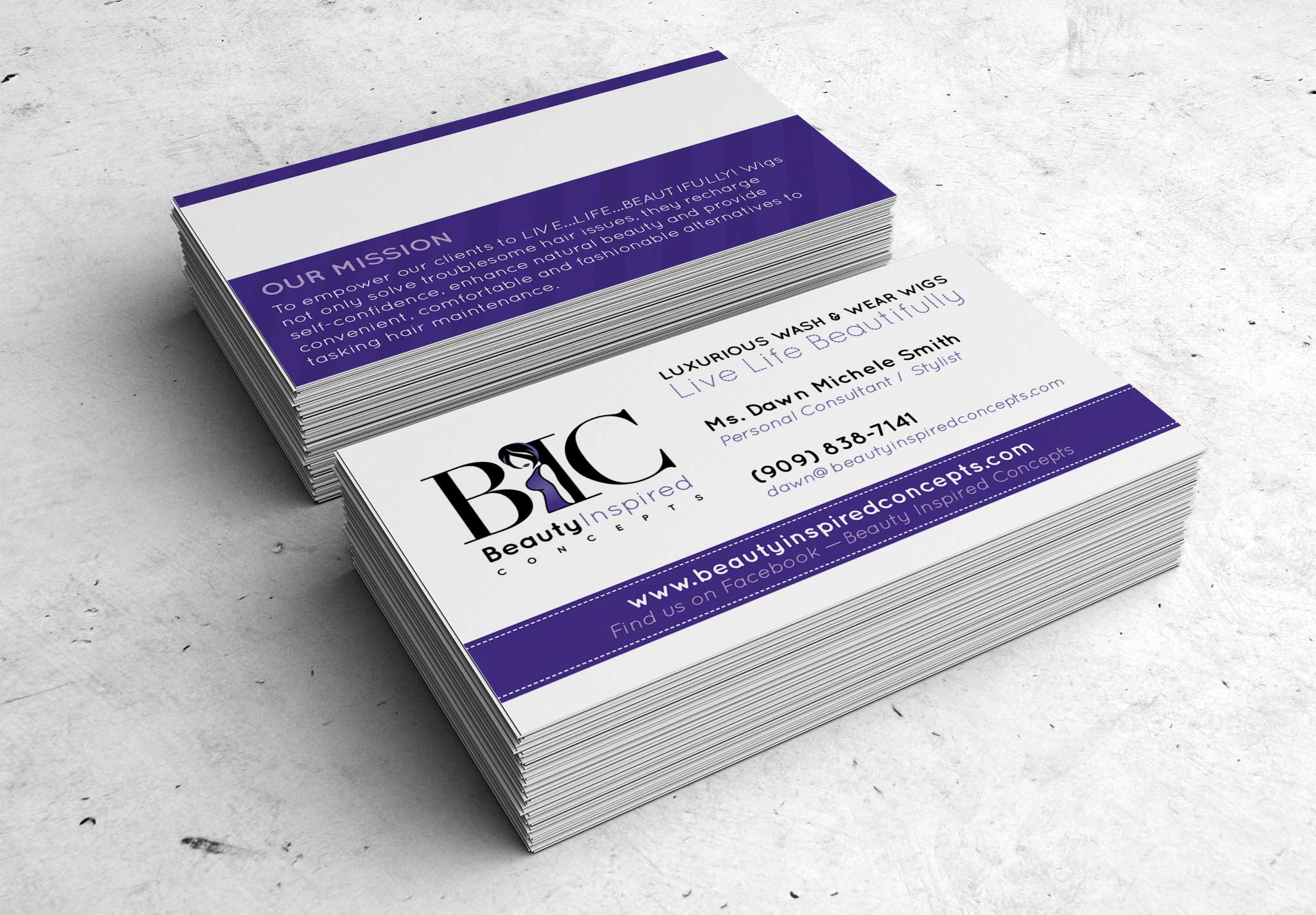 BIC business cards