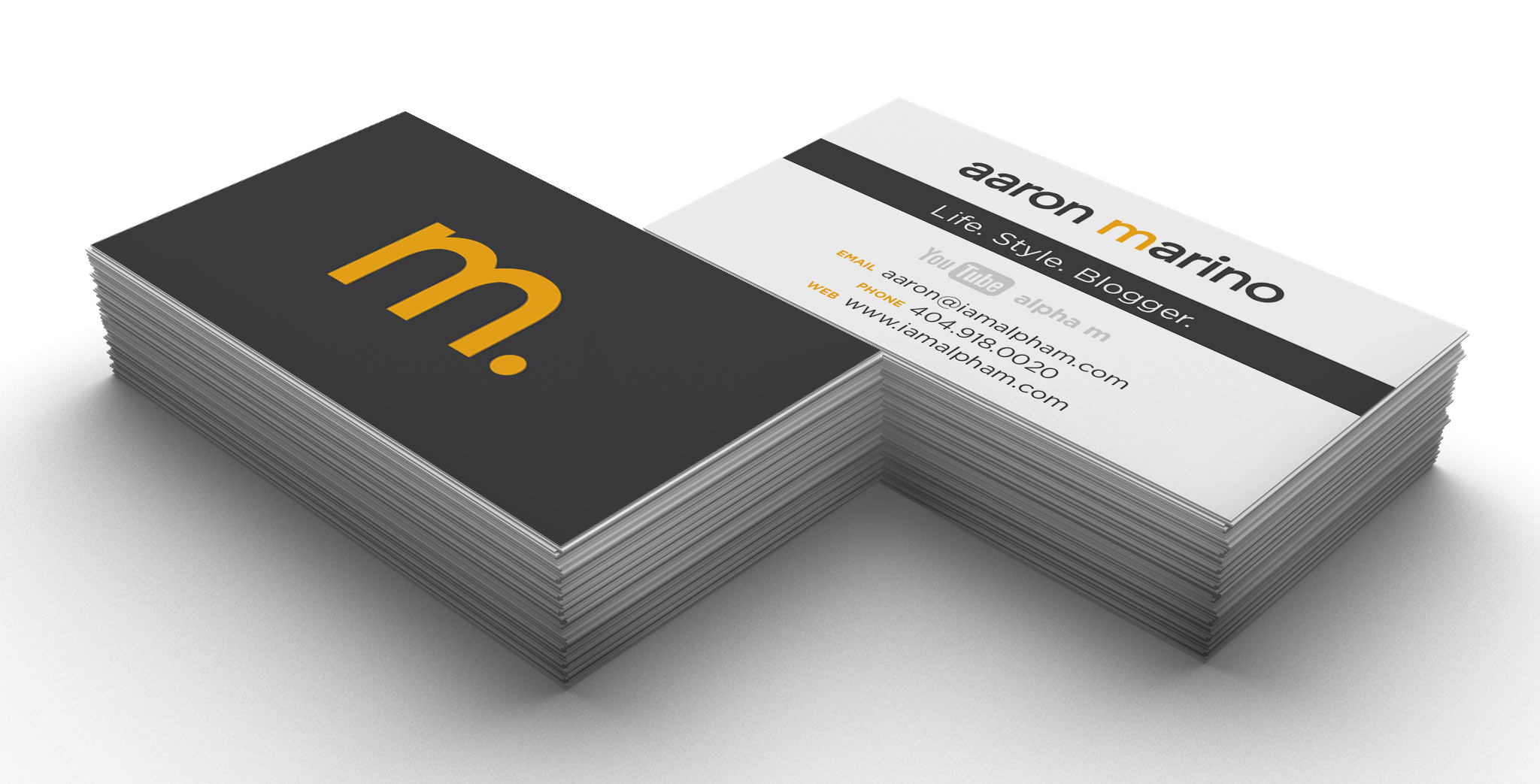 Aaron Marino business cards