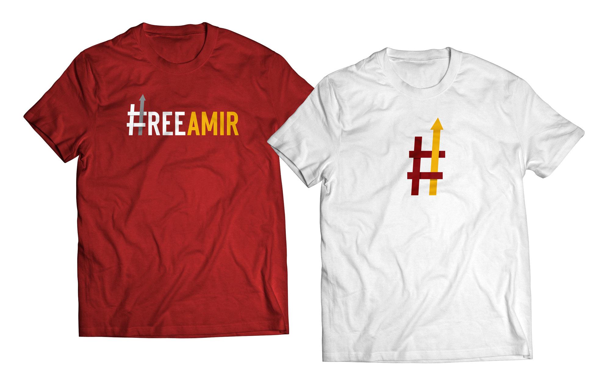 Free Amir t-shirts