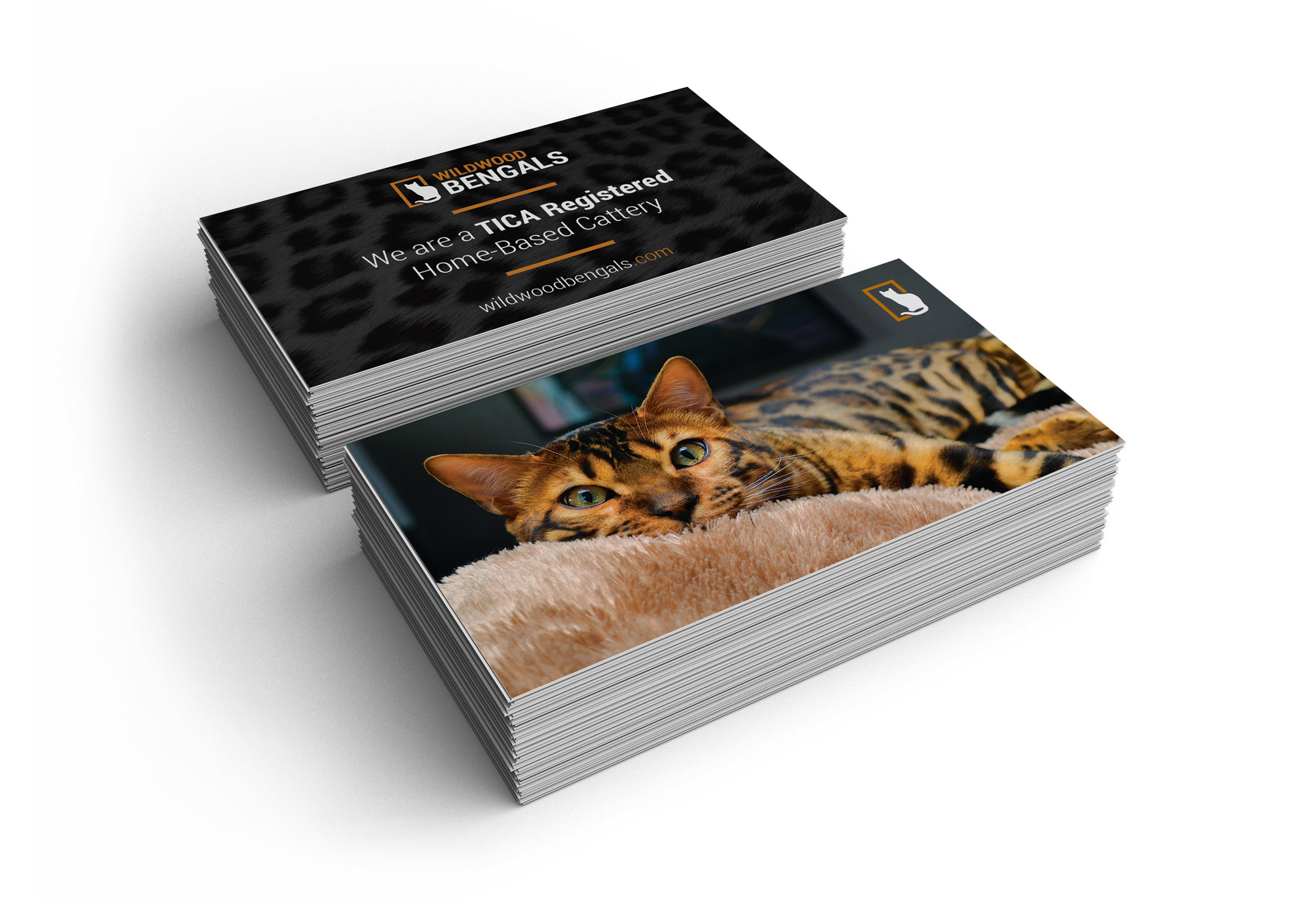 Wildwood Bengals business cards
